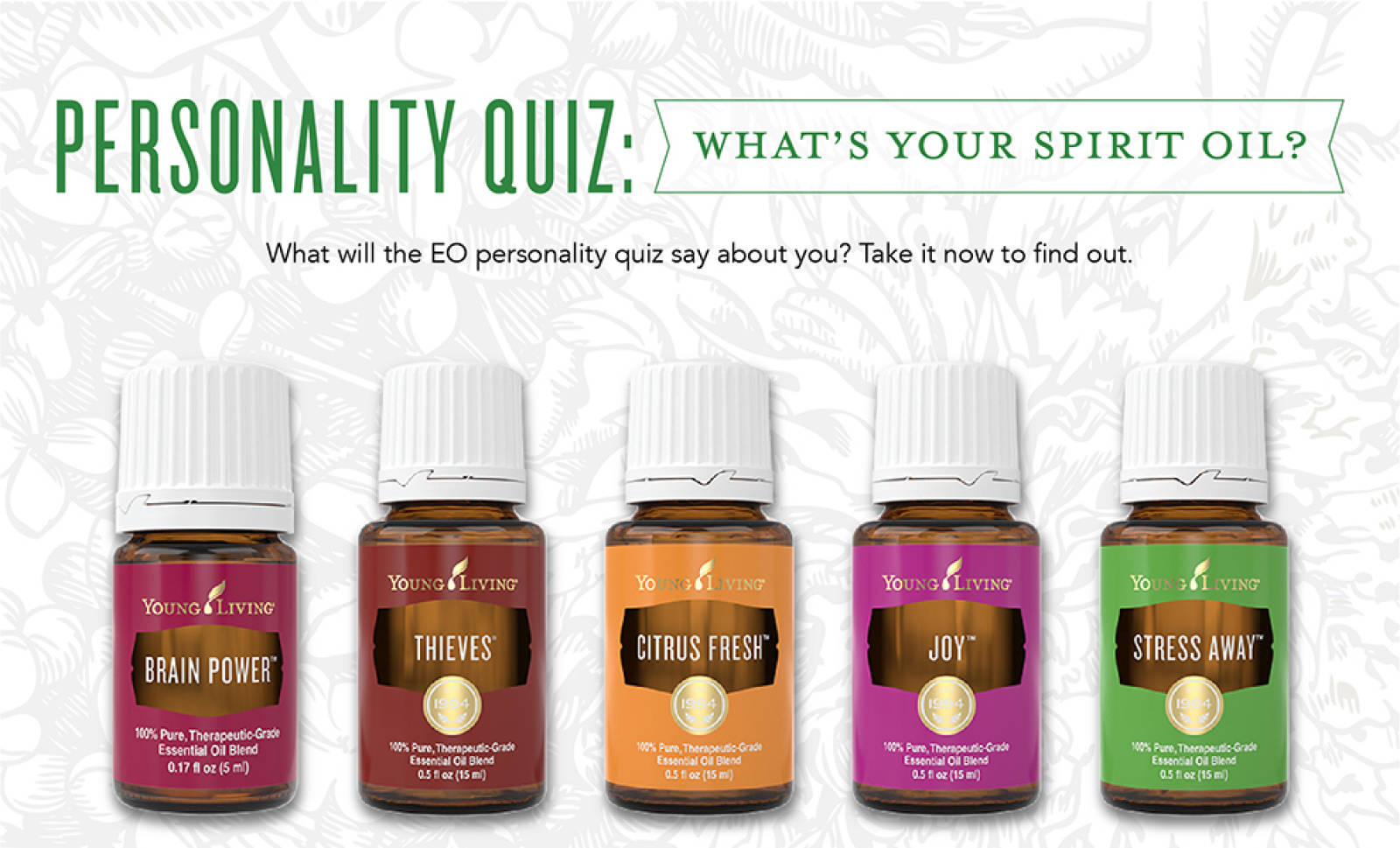 Take this young living oil personality quiz !