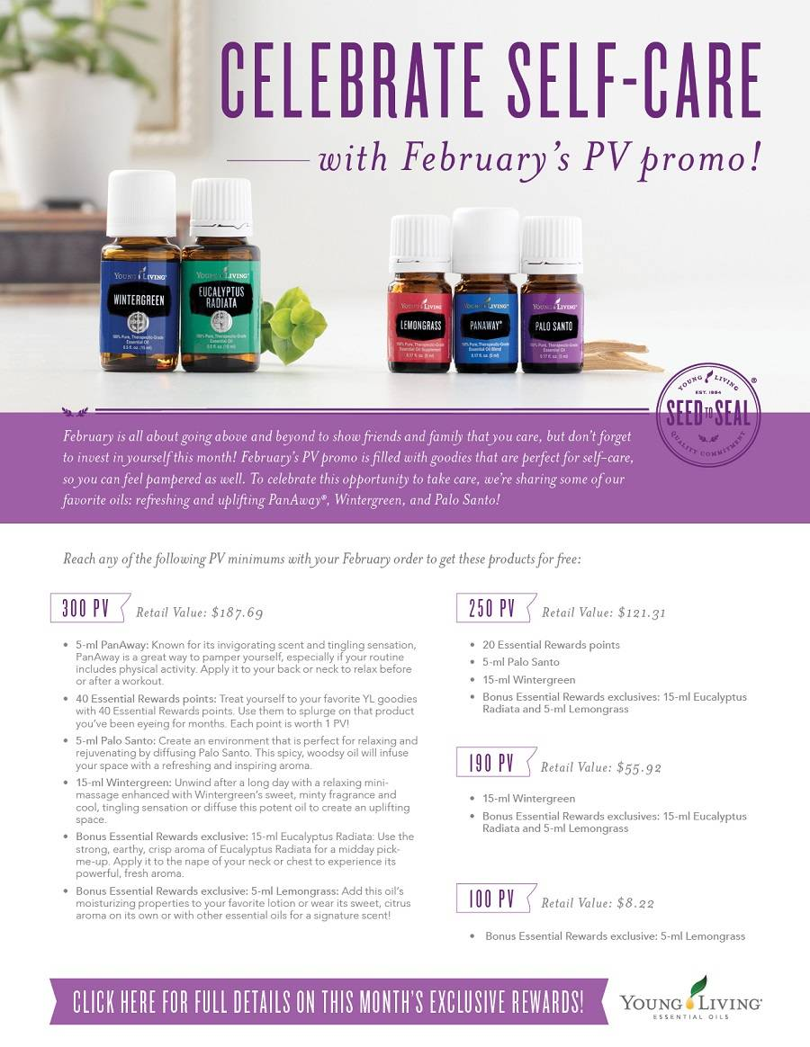 Februarys Promotions for FREE stuff!