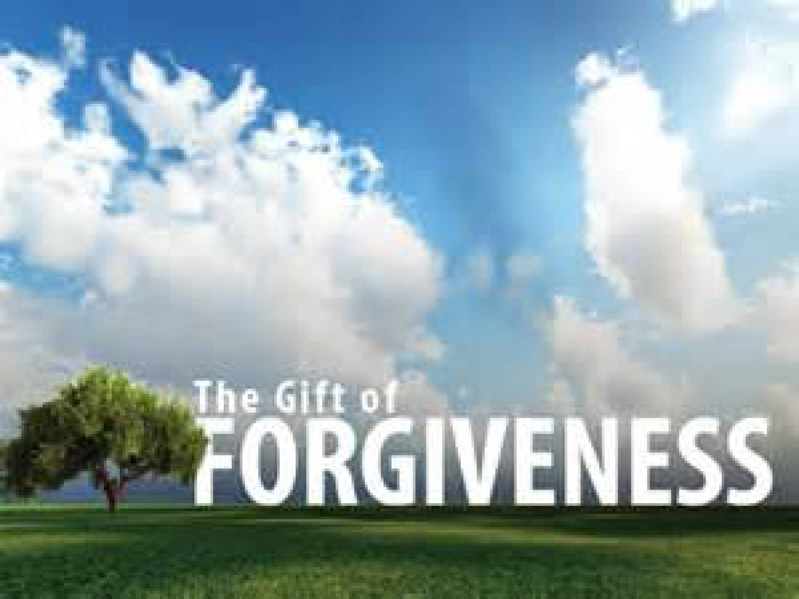 Forgiveness...... It's not for the person you gave forgiveness, its FOR YOU