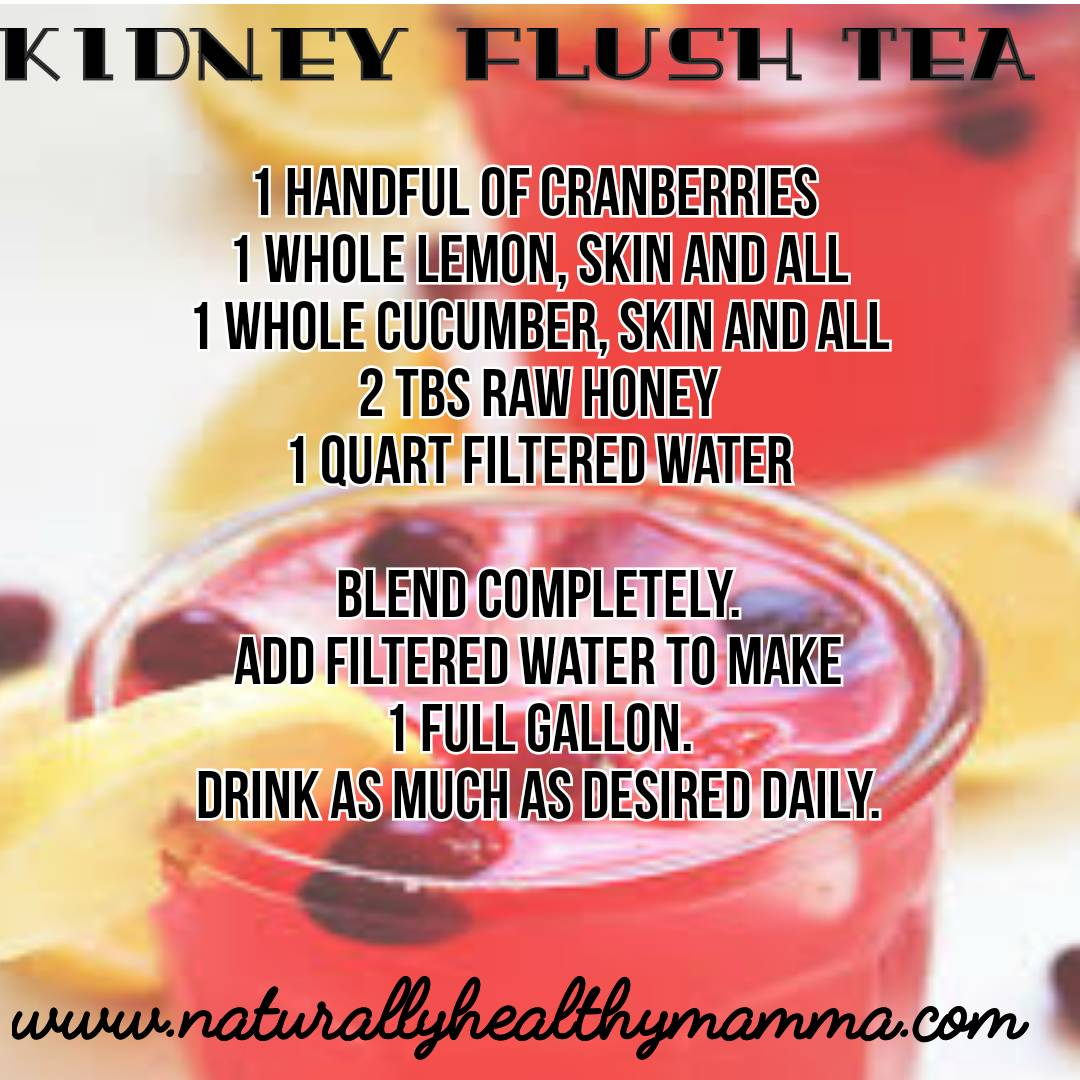 A great way to Support Kidney Function with this Great Tasting Tea