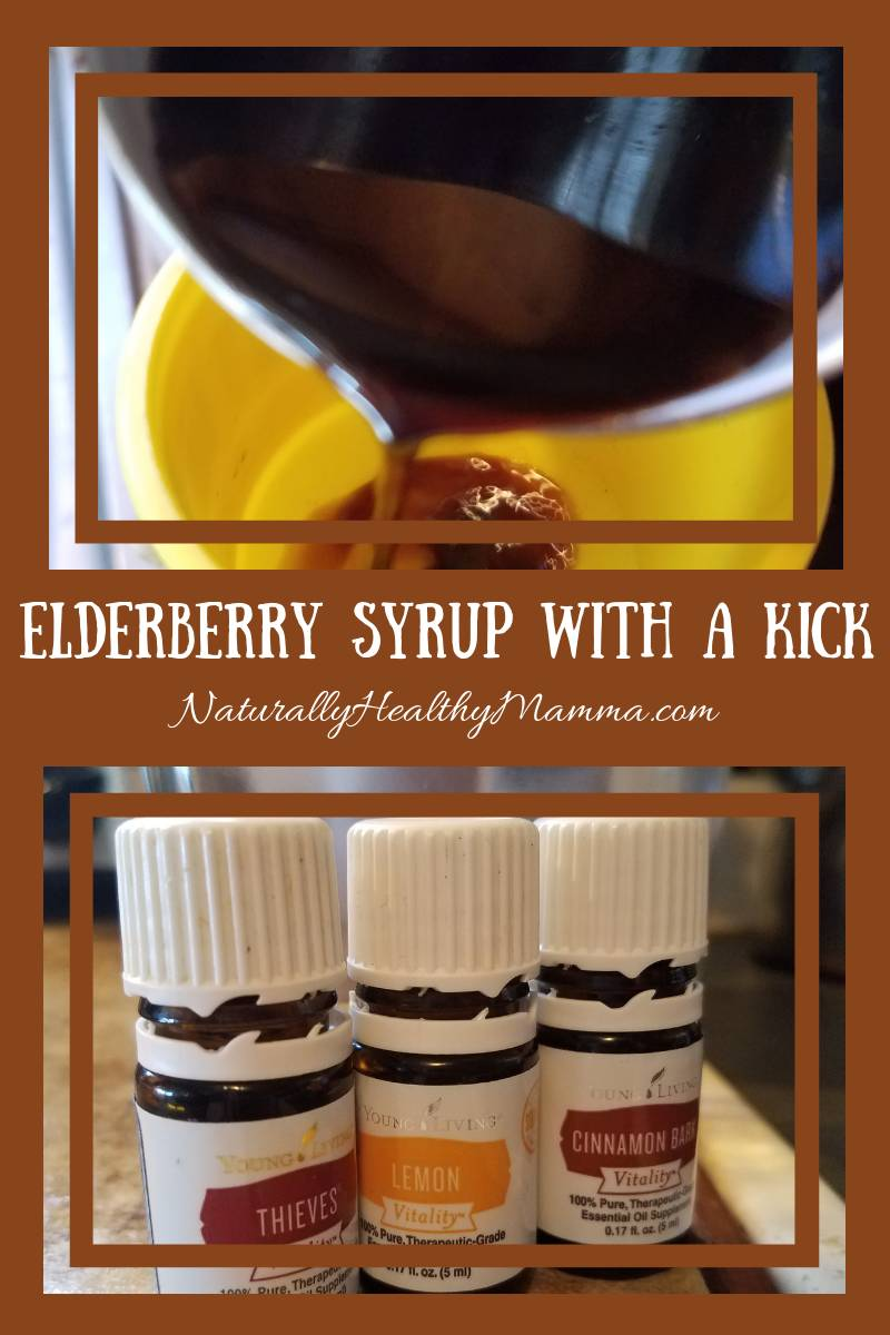 Doing Elderberry Syrup the Naturally  Healthy Mamma way--with Essential Oils!