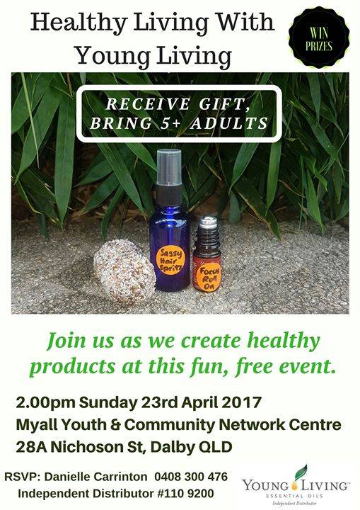 Dalby - Healthy Living with Young Living Free Workshop