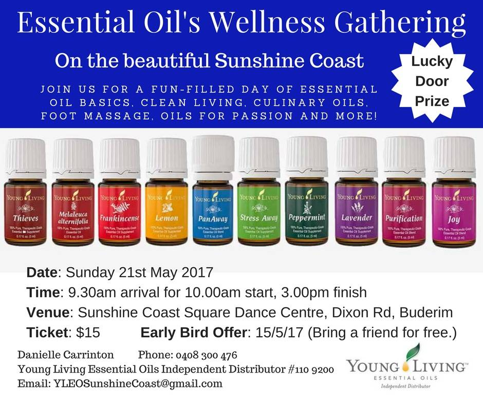 Essential Oil's Wellness Gathering