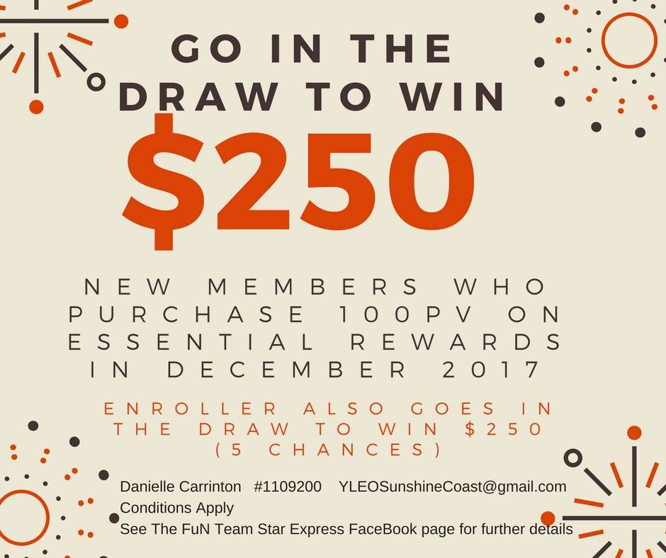Want to win $250?
