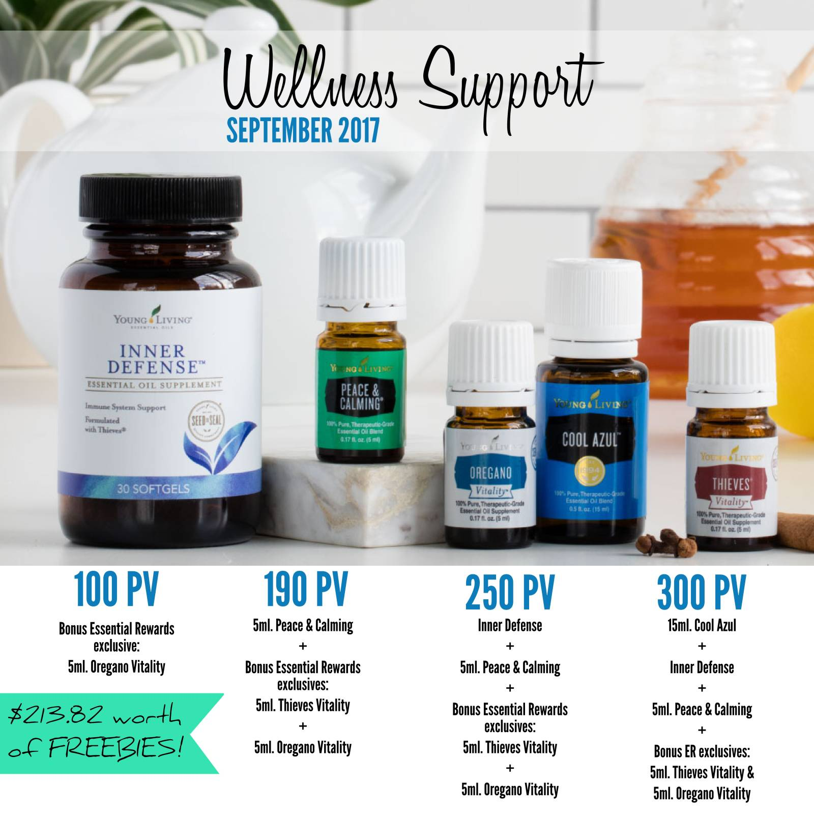 Wellness Support this September! Awesome September rewards and more!