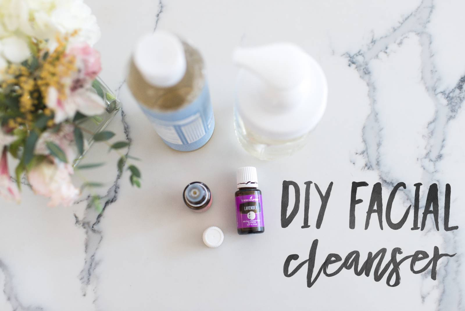 DIY Facial Cleanser