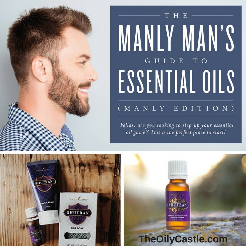 The Manly Man's Guide to Essential Oils