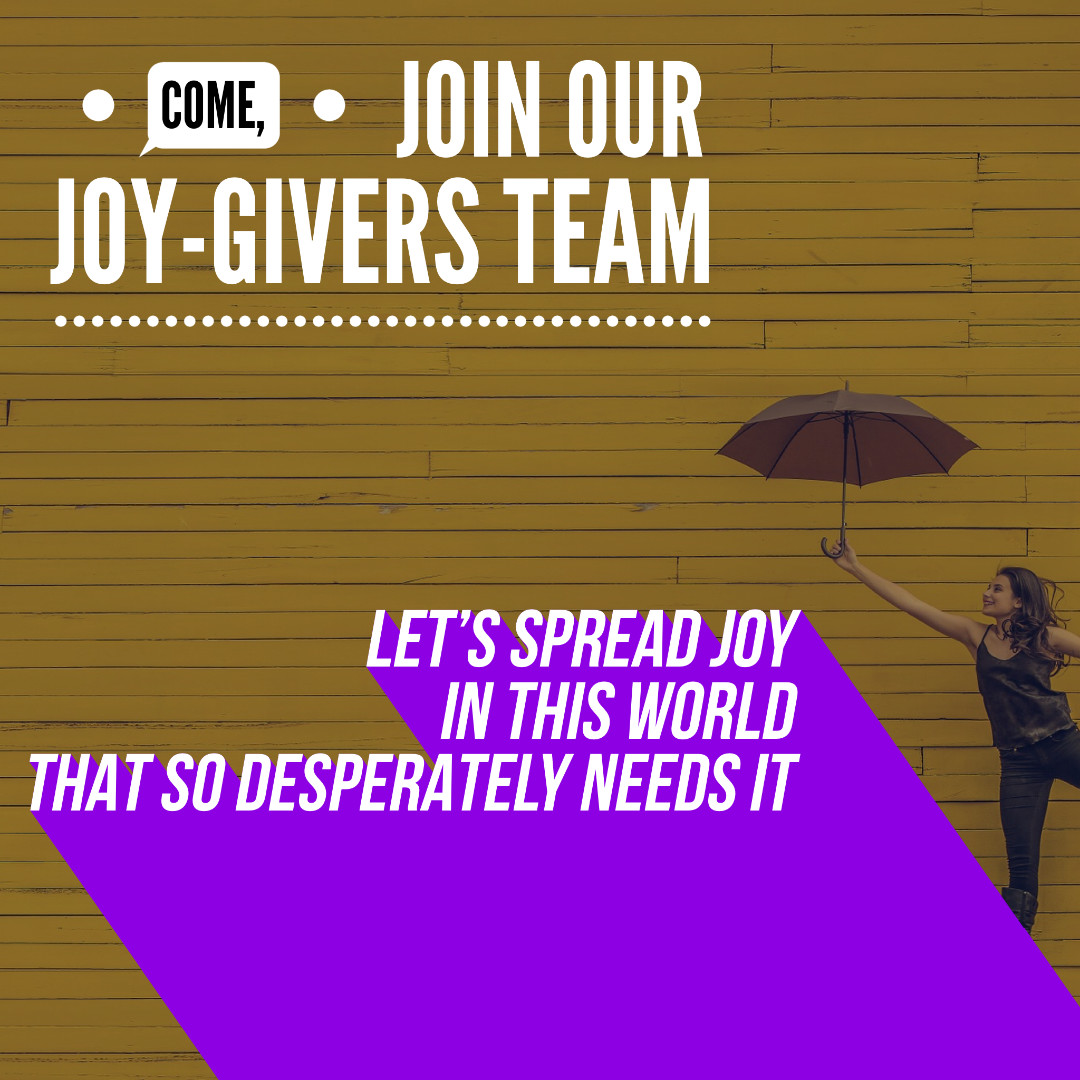 Join Our Joy-Givers Team