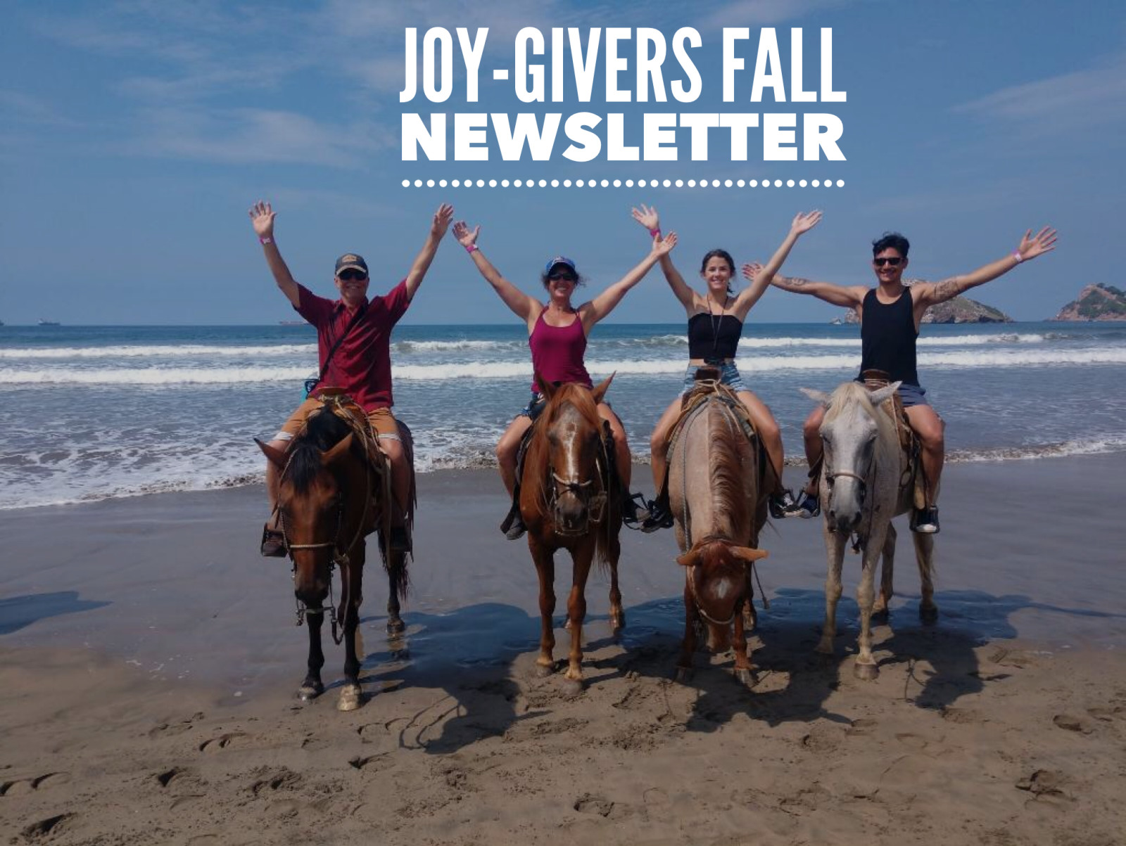 Joy-Givers Fall Newsletter