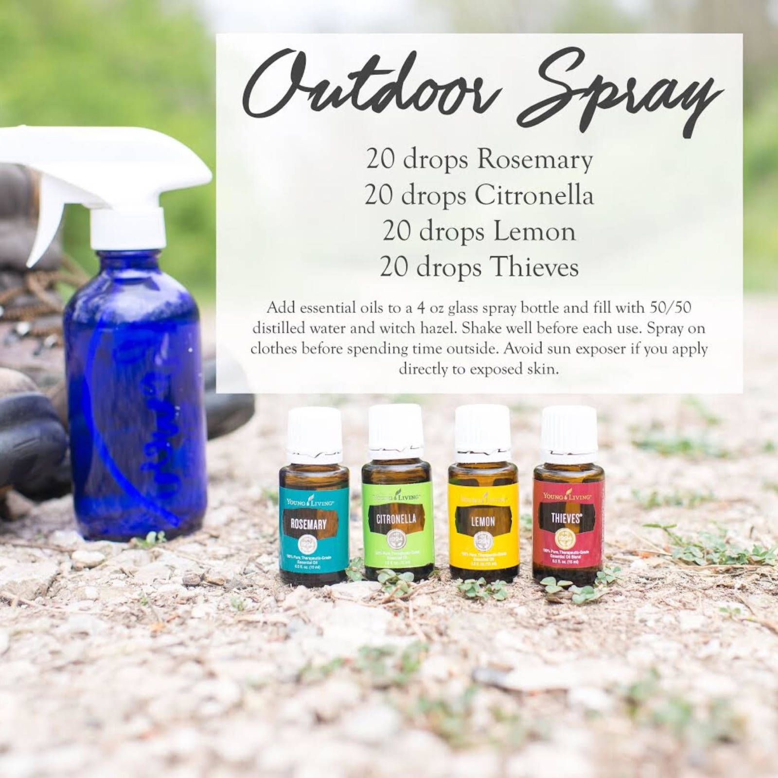 Summer Outdoor Spray