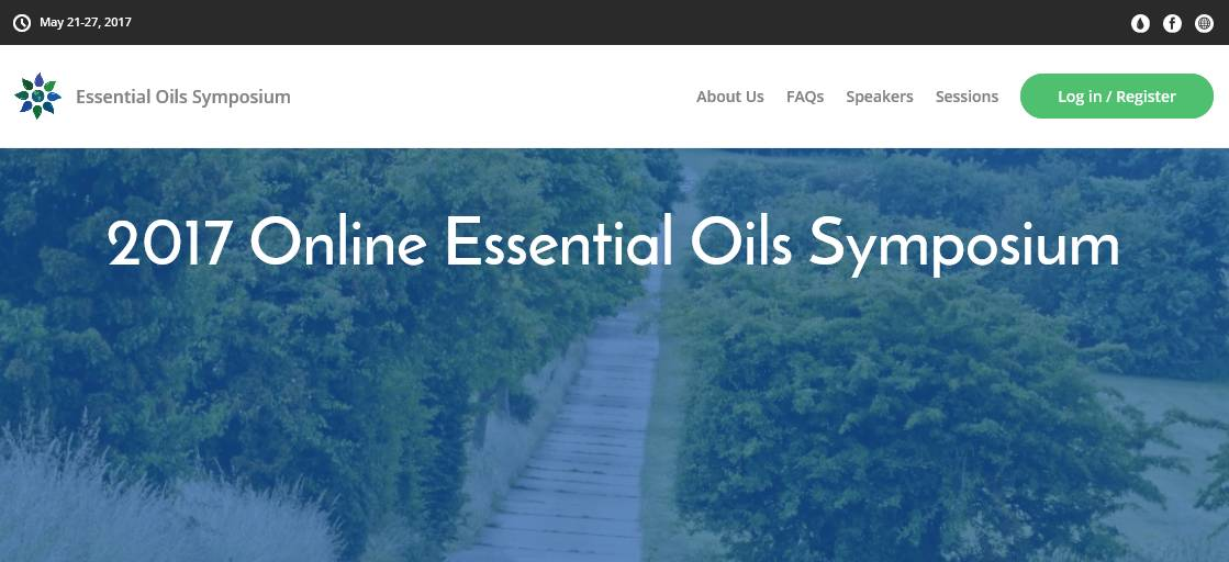2017 Online Essential Oils Symposium