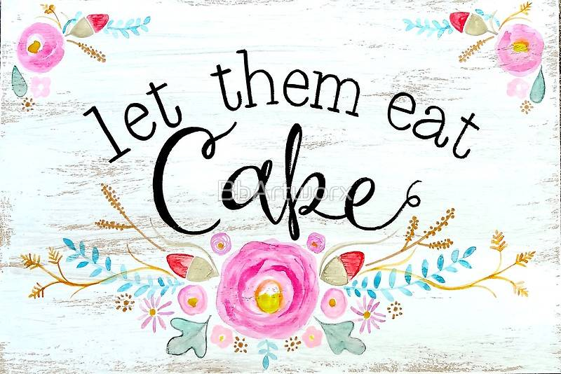 Let Them Eat Jade Lemon Cake!