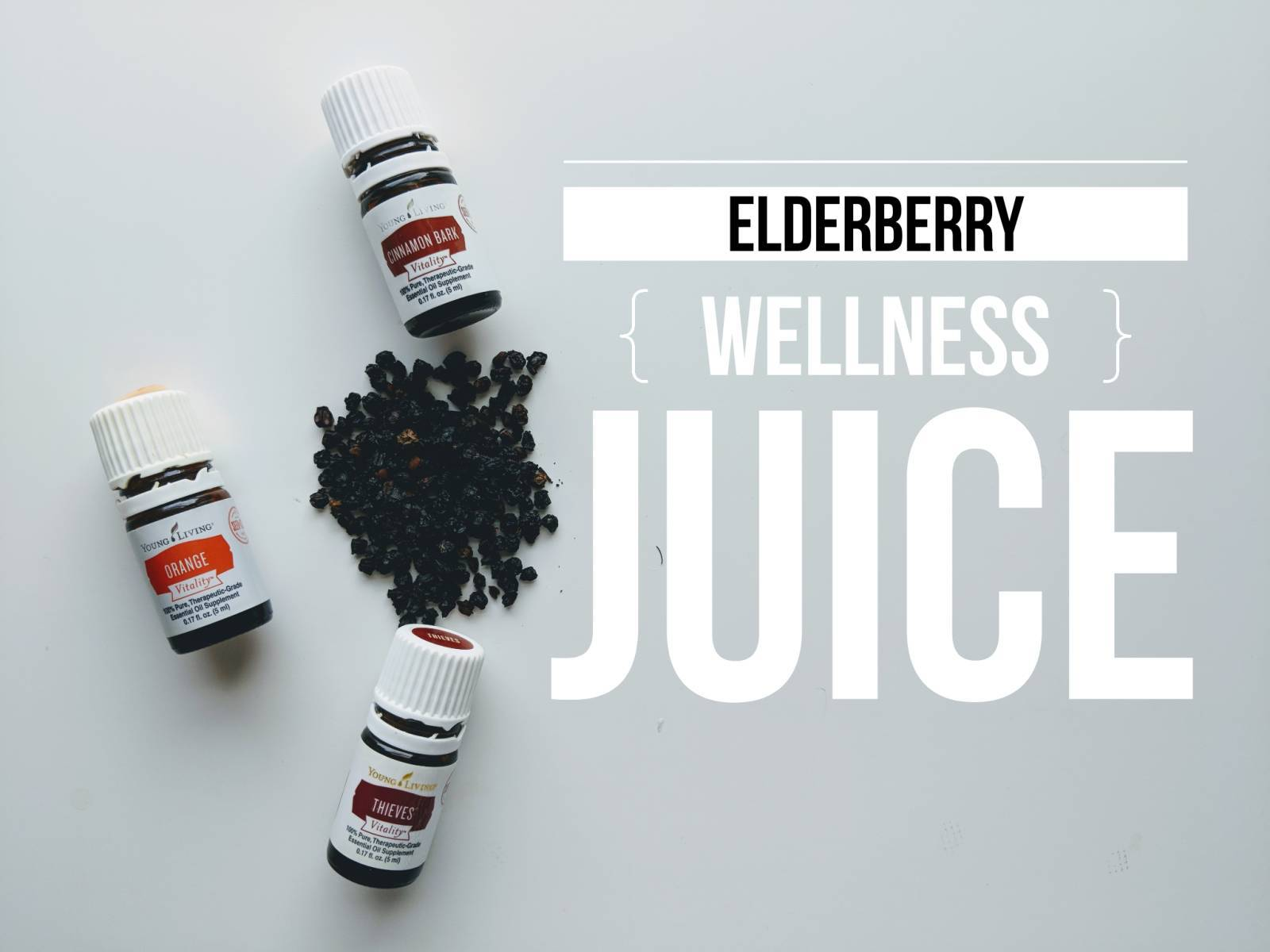 Elderberry Wellness Juice