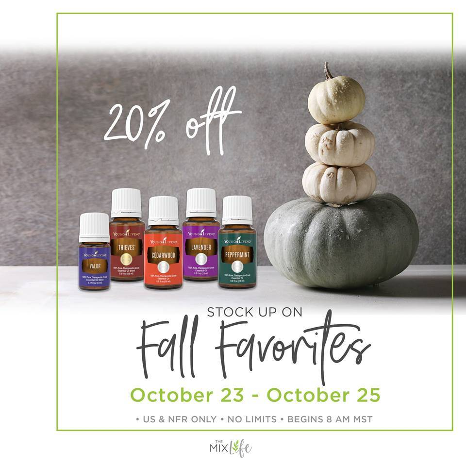 Oily Favorites Flash Sale!!!