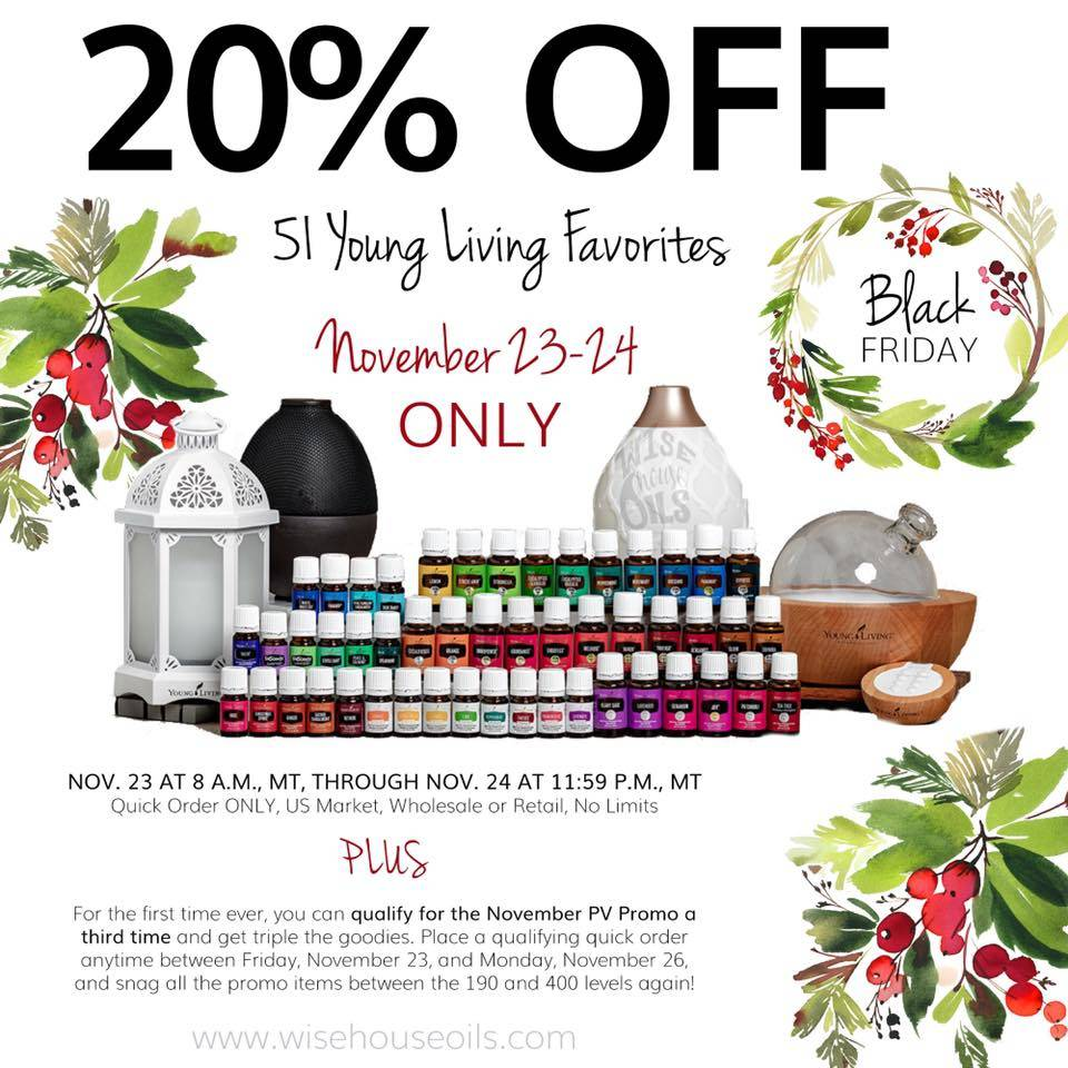 20% Off 51 YL Best-Loved Oils & Diffusers + YL Gear On Sale!
