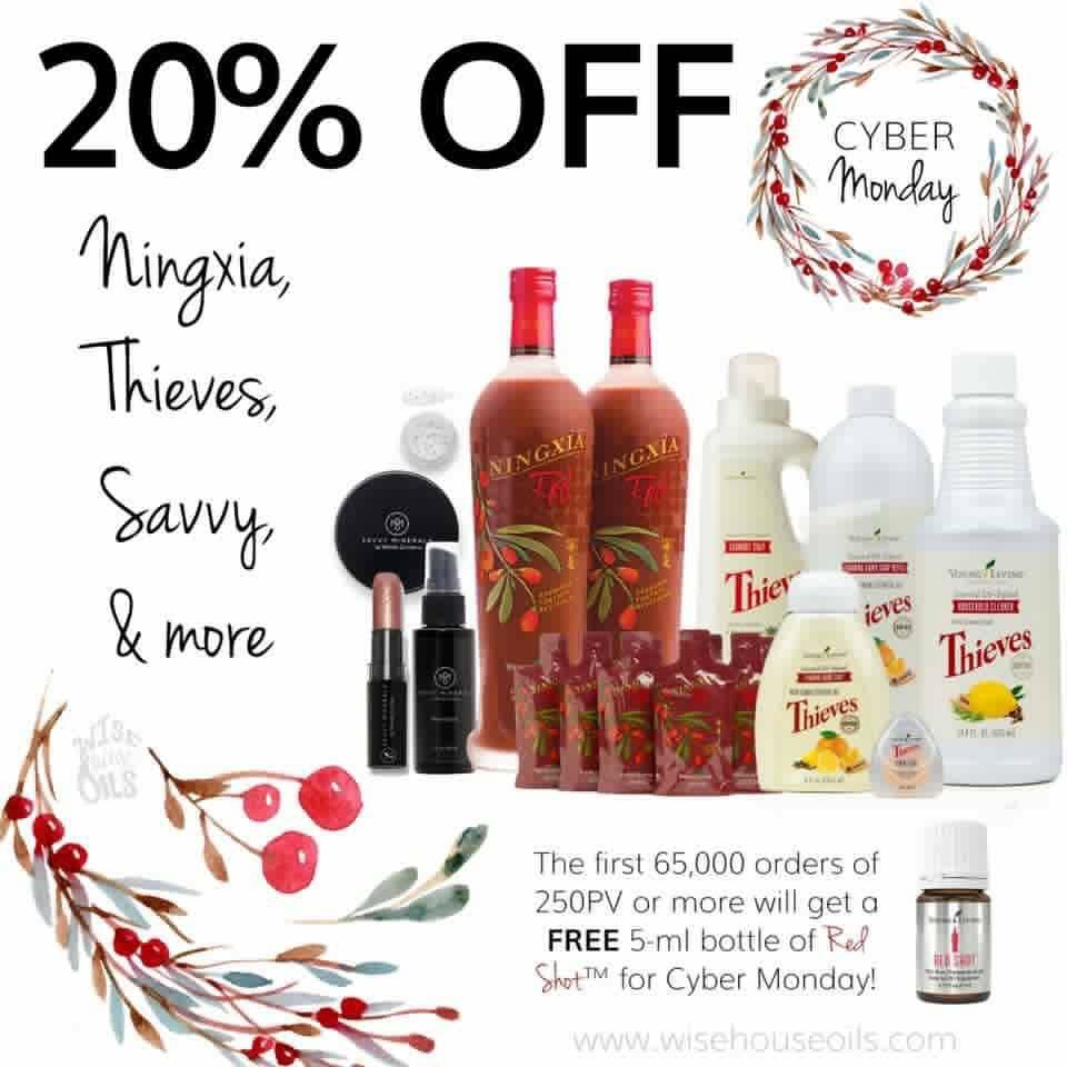 Young Living's Cyber Monday is HERE!!!
