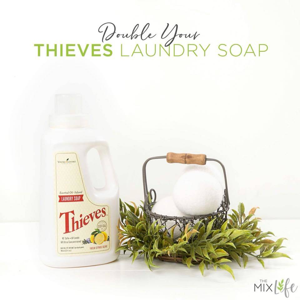 Double Your Thieves Laundry Soap!