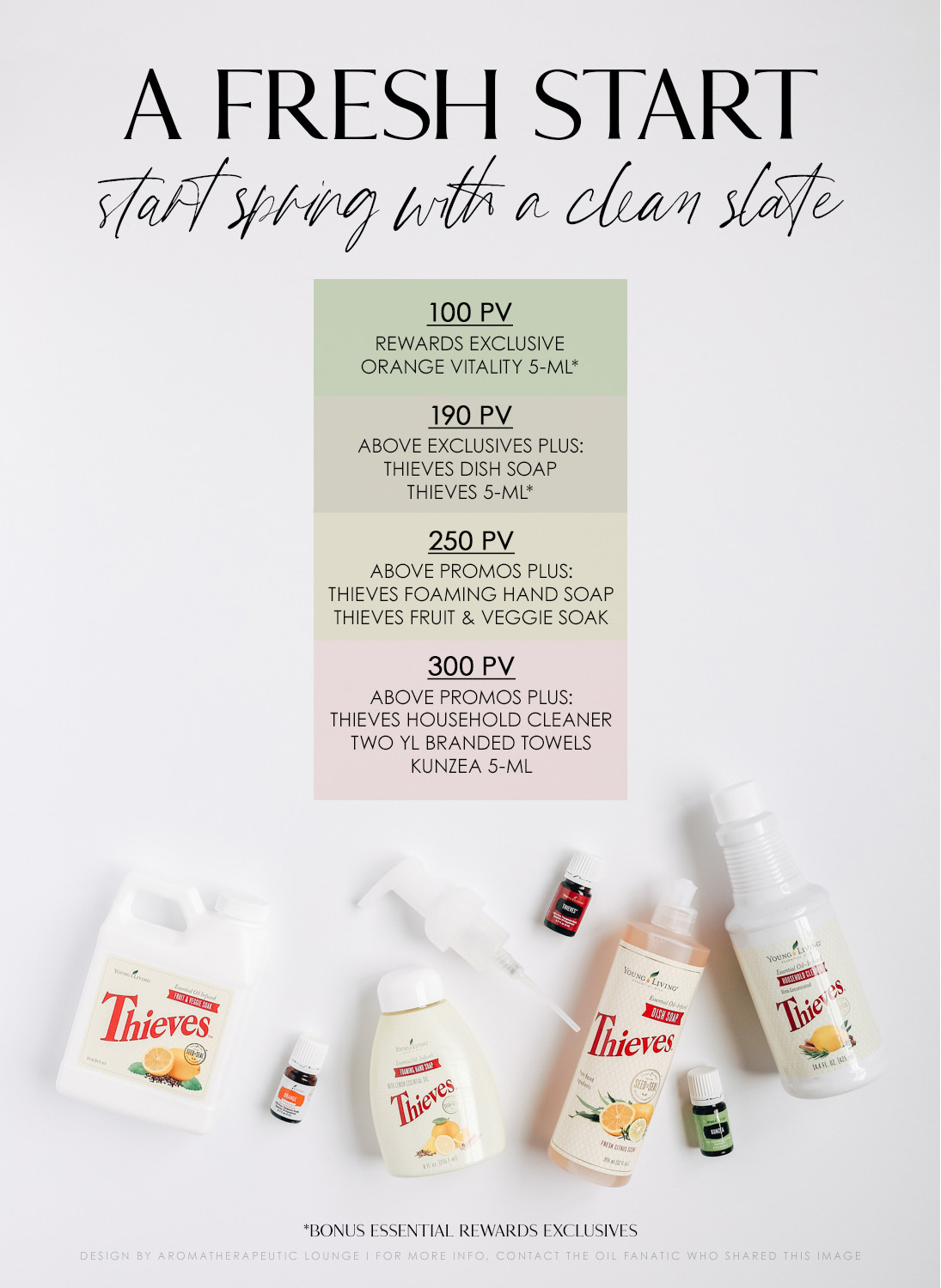 Clean Up with March's YL Promos!