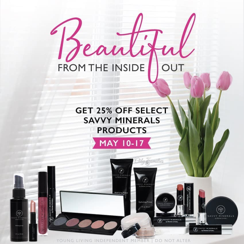 WHAT?! Savvy Minerals is 25% OFF?!?!
