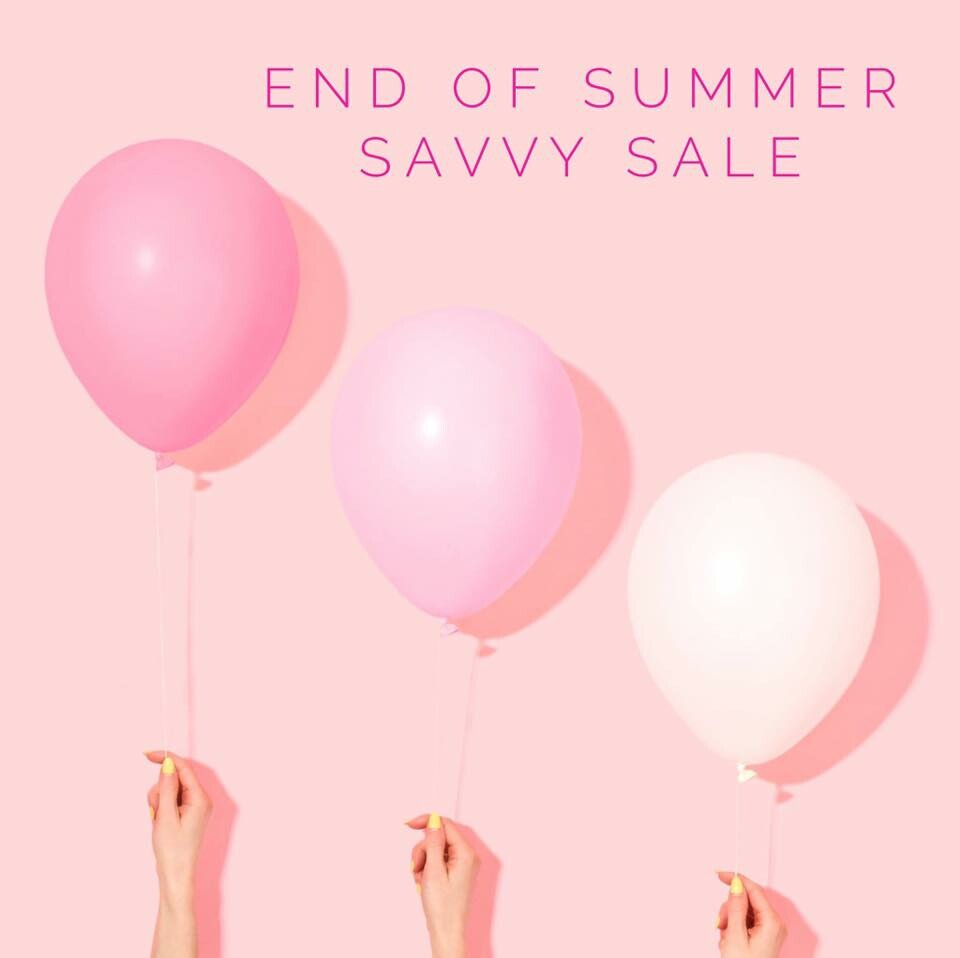 Select Savvy Minerals Shades are 50% Off!!!