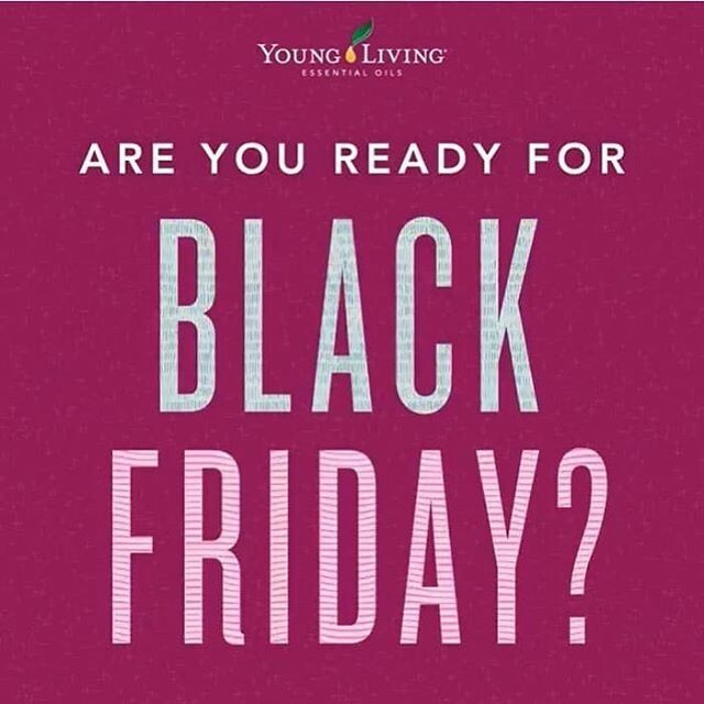 It's Here! It's Here! All the Black Friday YL Goodness!!!