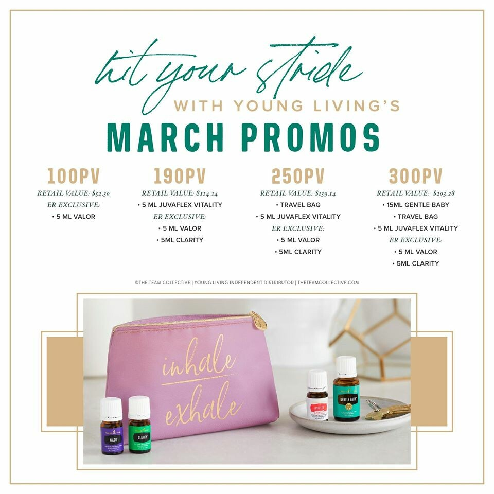March - In Like a LION with GREAT Promos!