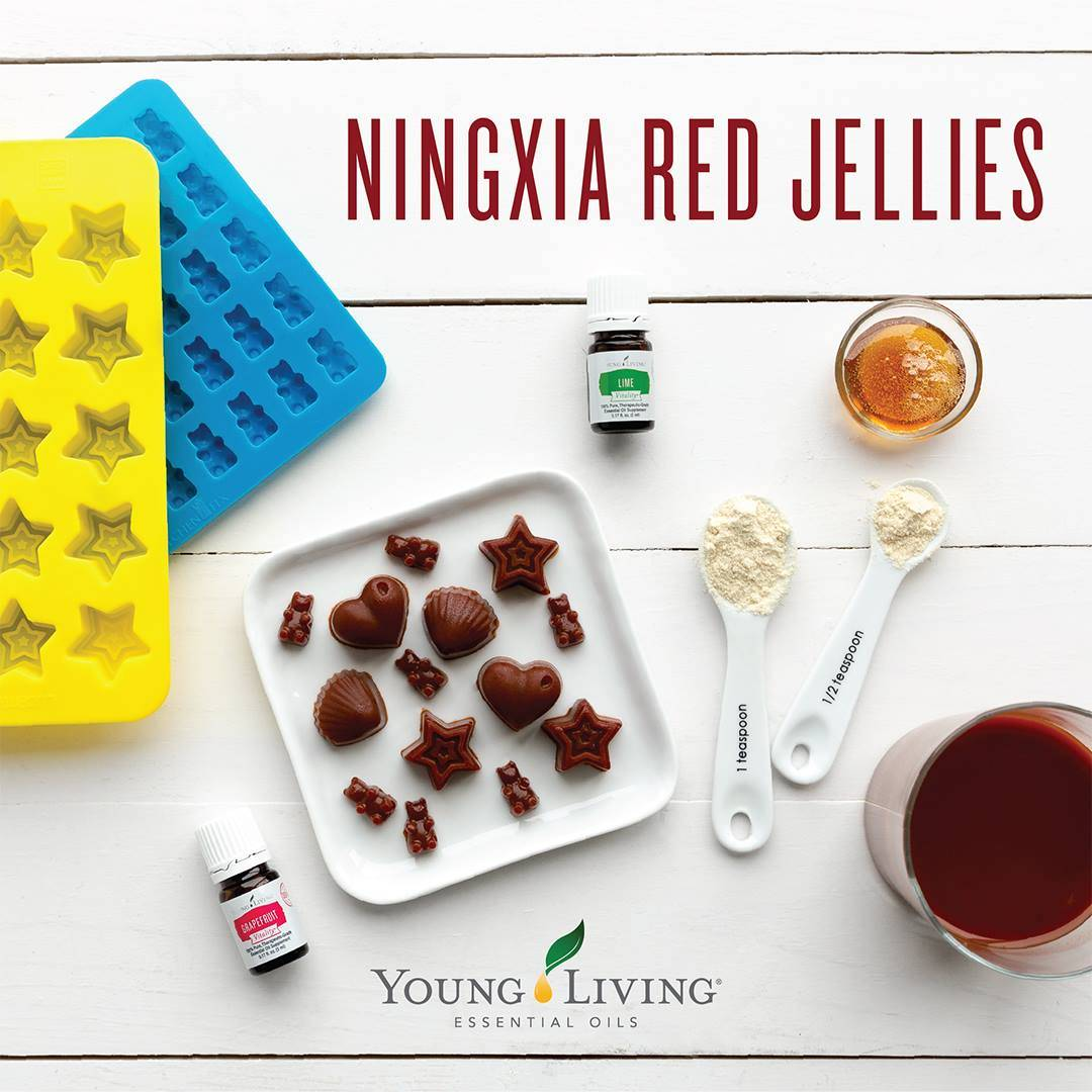 Ningxi Red Jellies!! Not just for kids!
