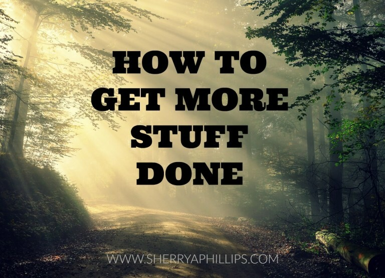 How To Get More Stuff Done