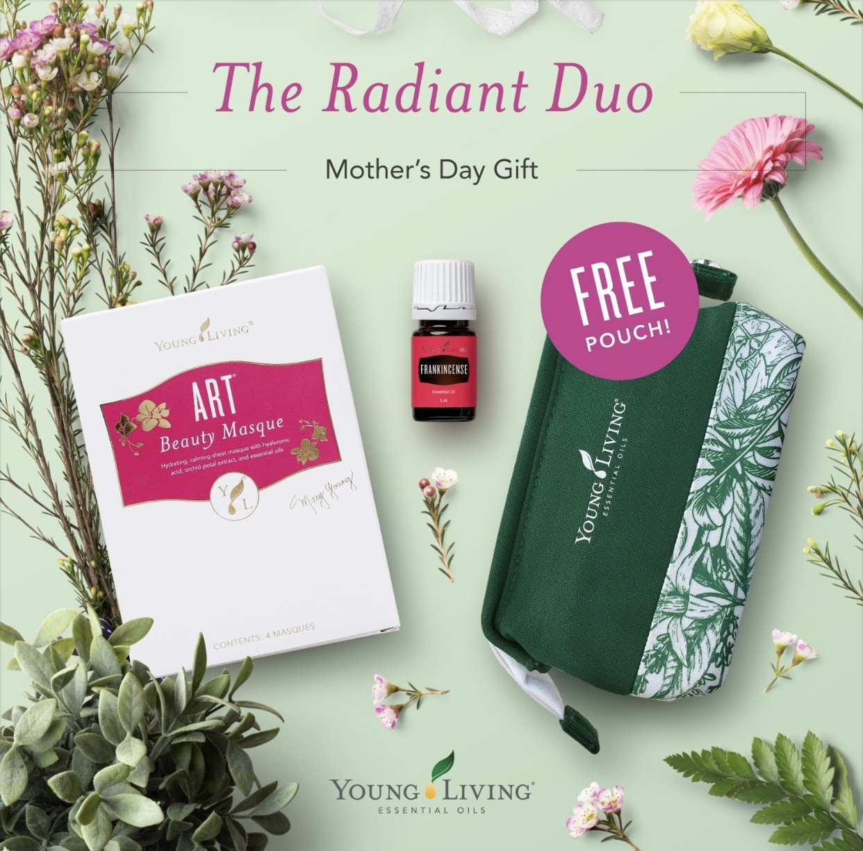 Mothers Day Radiant Duo Pack with FREE POUCH
