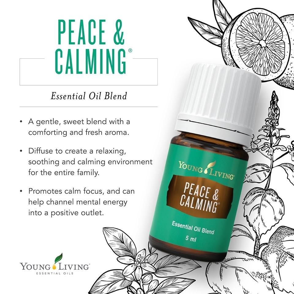 PEACE AND CALMING ESSENTIAL OIL