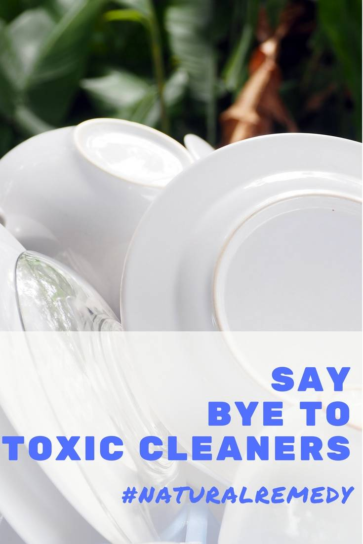 Bye Bye Toxic Cleaners!