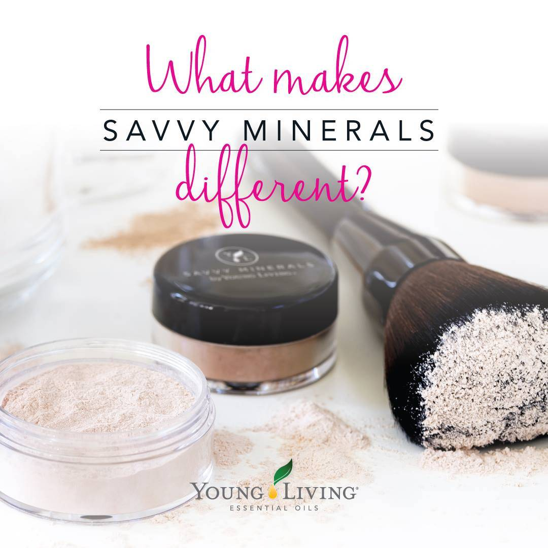 What Makes Savvy Minerals Different?