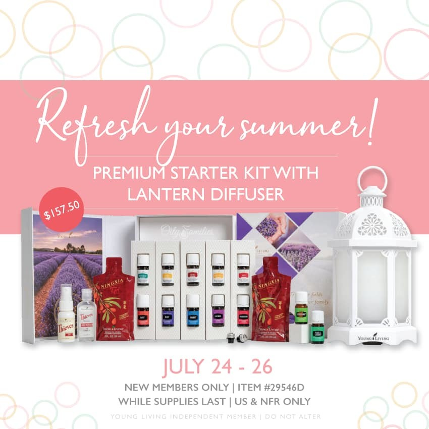 FLASH SALE on the Starter Kits!  July is AMAZING!!