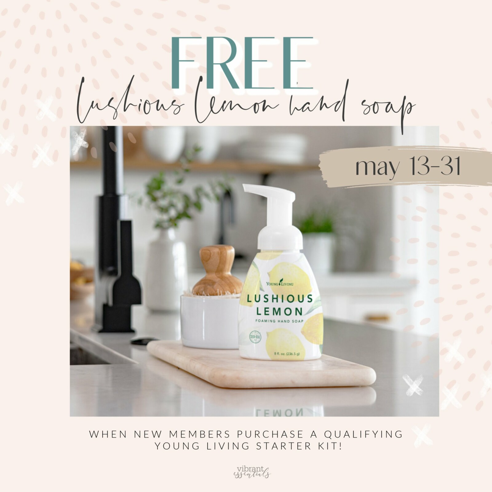 FREE LUSHious Lemon Hand Soap!!  Learn how!