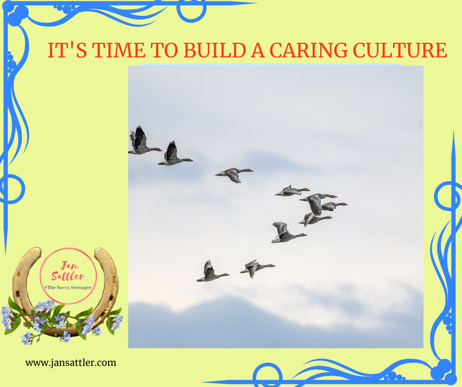 It's Time to Build a Caring Culture