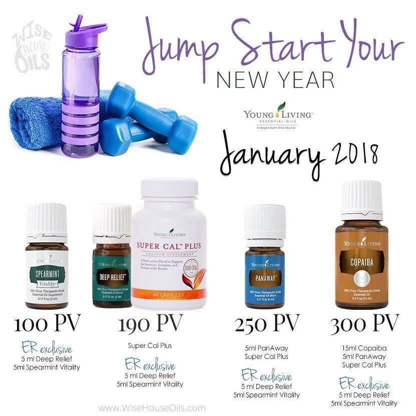 January Promotions!!