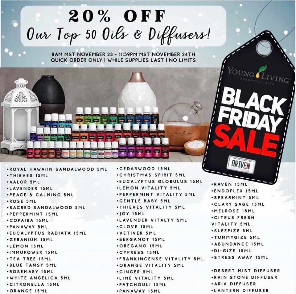 Black Friday Specials!!!