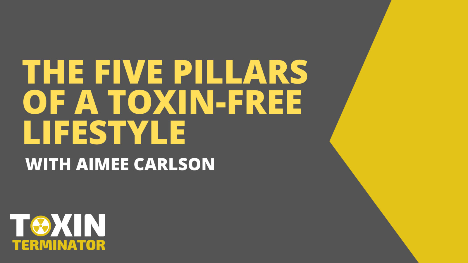 The 5 Pillars of a Toxin-Free Lifestyle