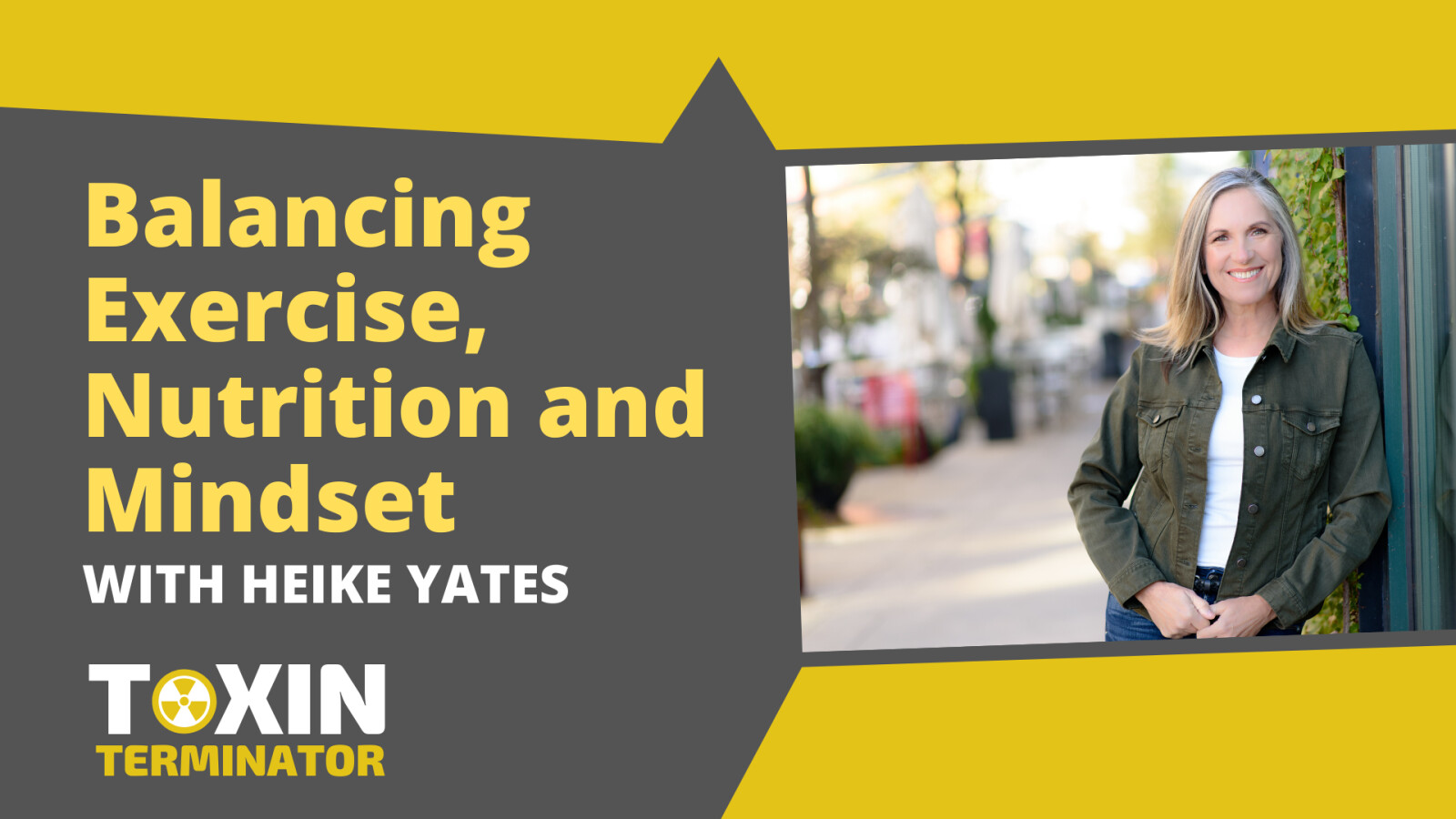 Balancing Exercise, Nutrition and Mindset with Heike Yates