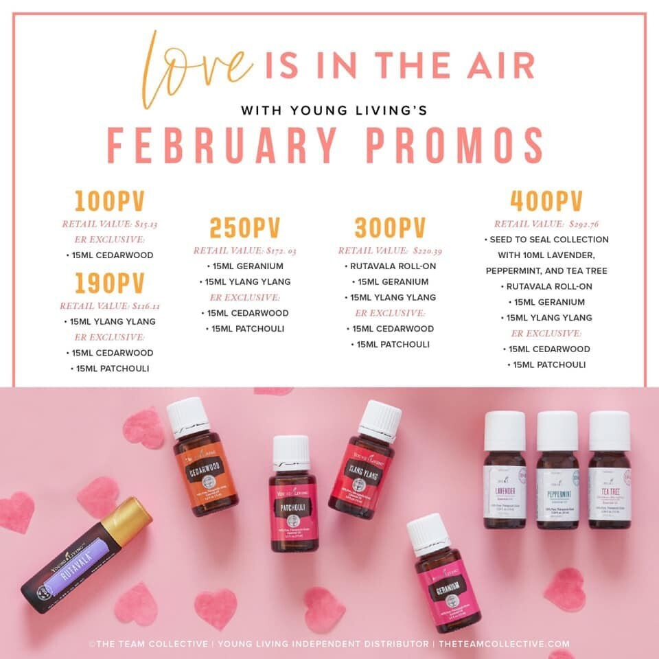 You'll fall in LOVE with the February promos!