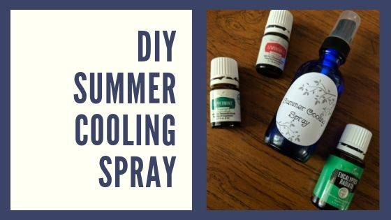 DIY Summer Cooling Spray