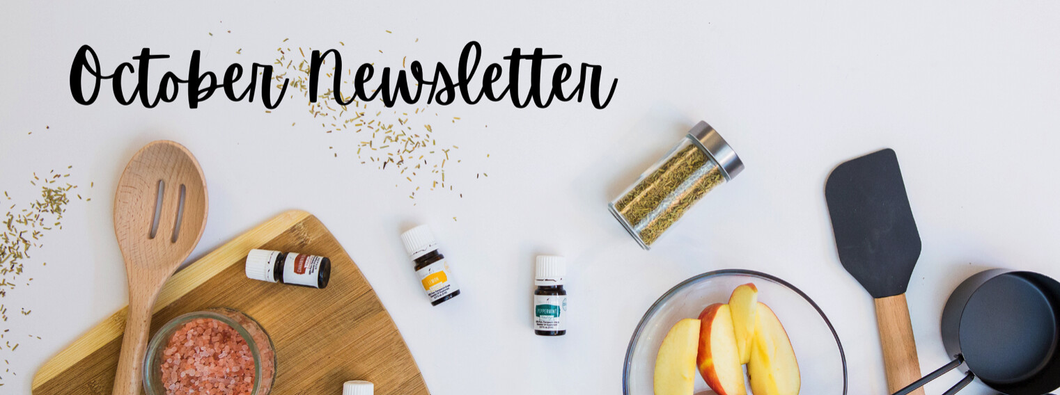 October! Halloween Cider, Candy Corn Diffuser Recipes, CBD and more!