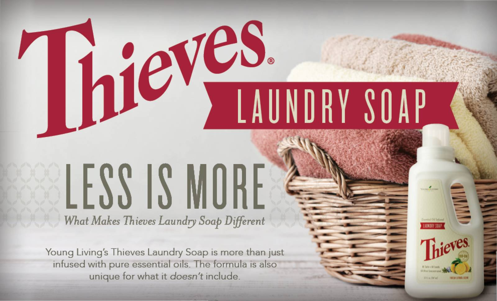Economical Choices Continued with Thieves Laundry Soap