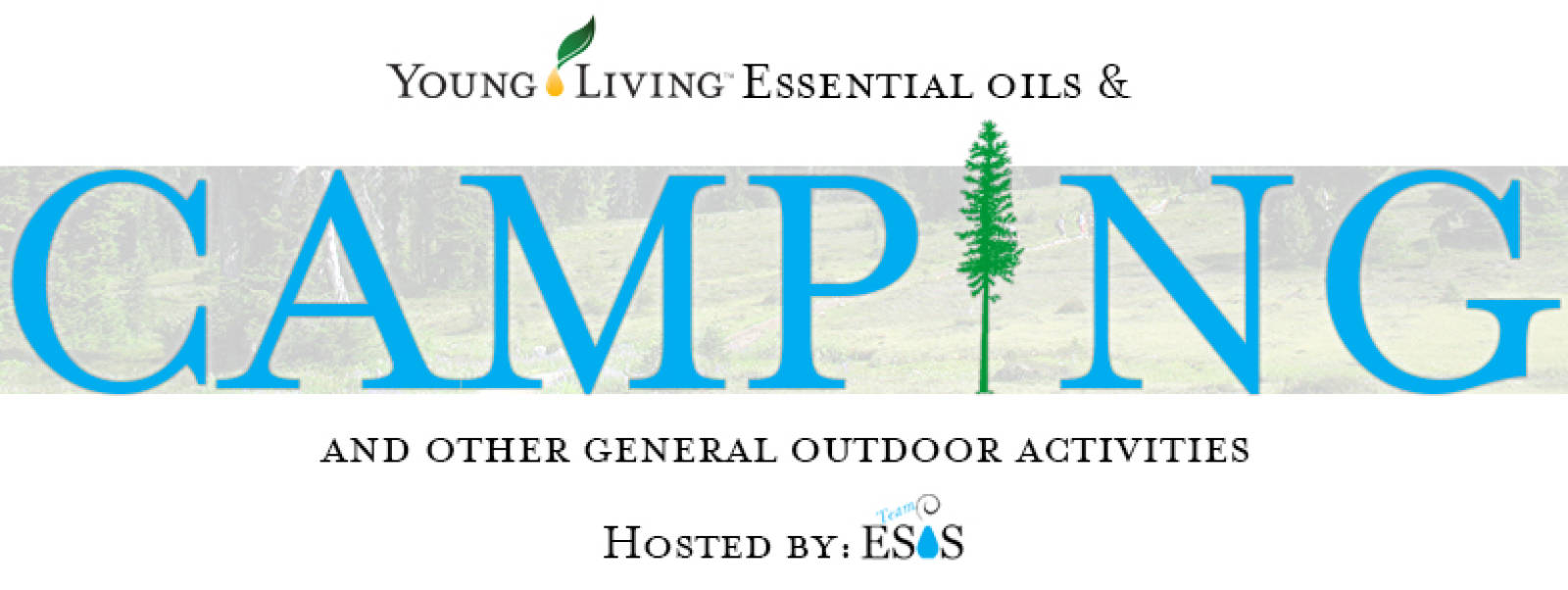Young Living Essential Oils & Camping