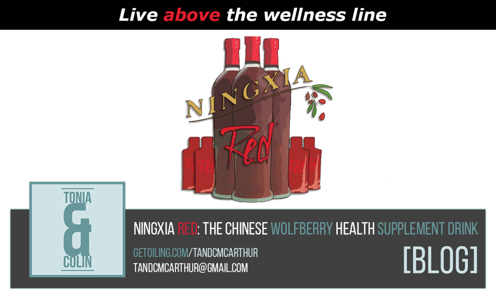 NingXia Red: The Chinese Wolfberry Health Supplement Drink