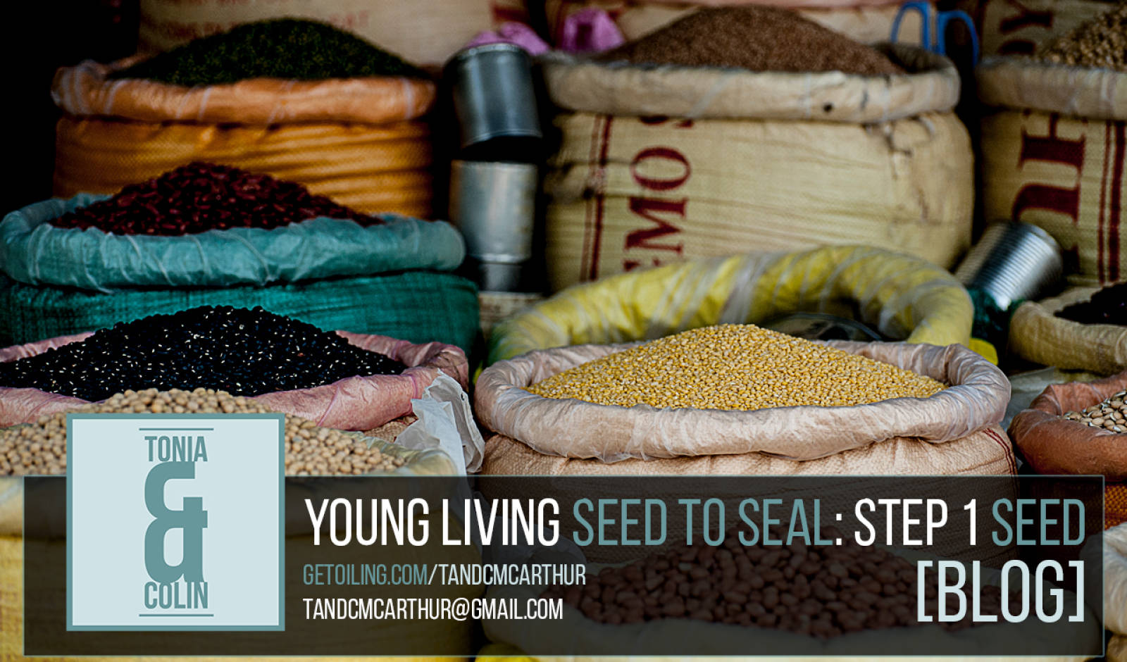 Young Living Essential Oils Seed to Seal Process - Step 1: Seed