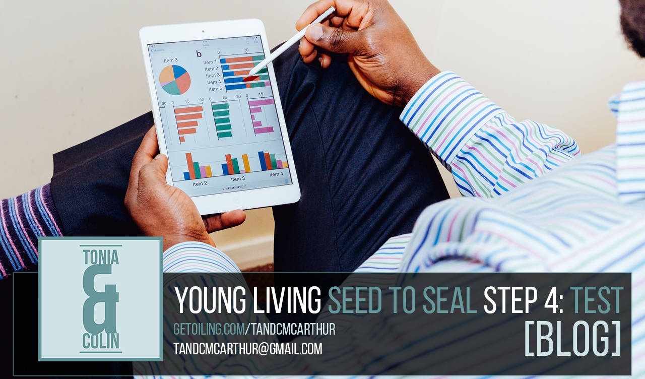 Young Living Essential Oils Seed to Seal Process - Step 4: Test