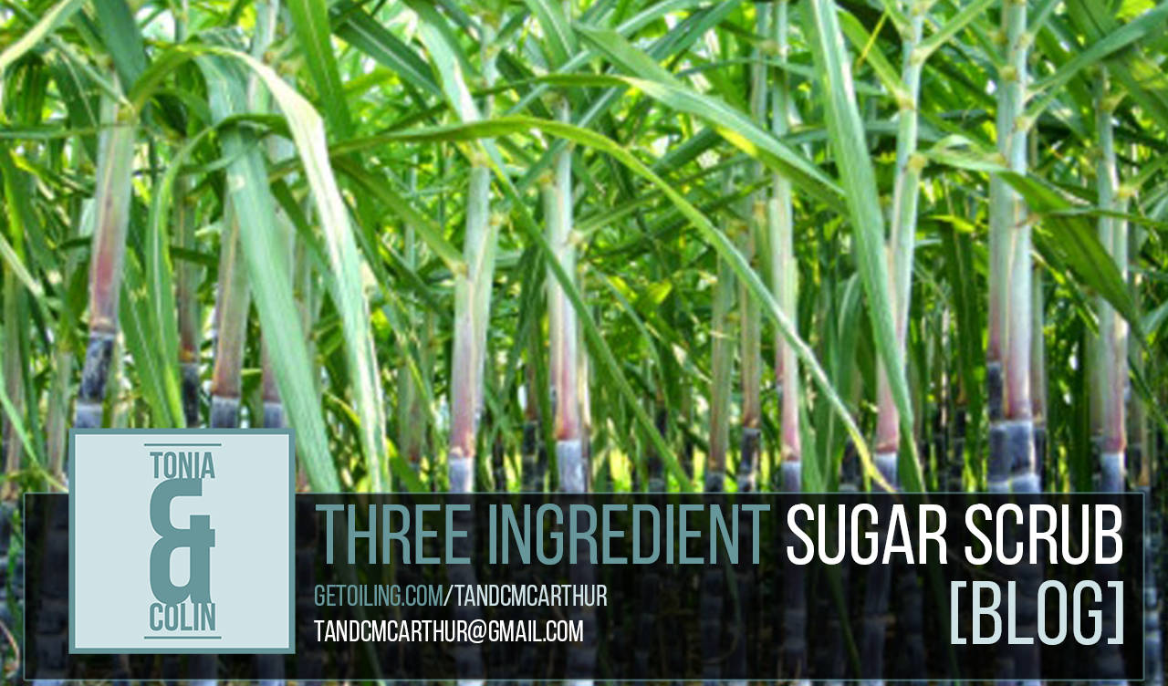 Three Ingredient Sugar Scrub