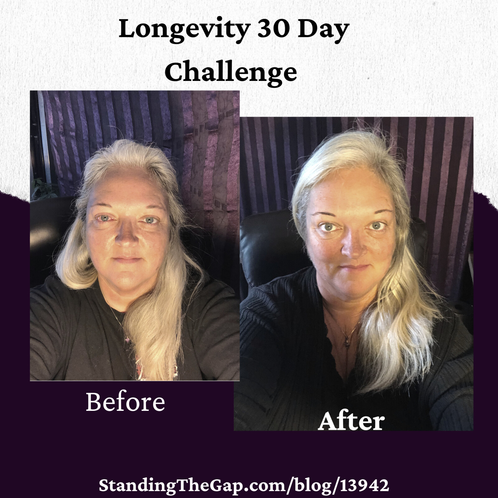 Wow! Longevity 30 Day Challenge Completed!!!