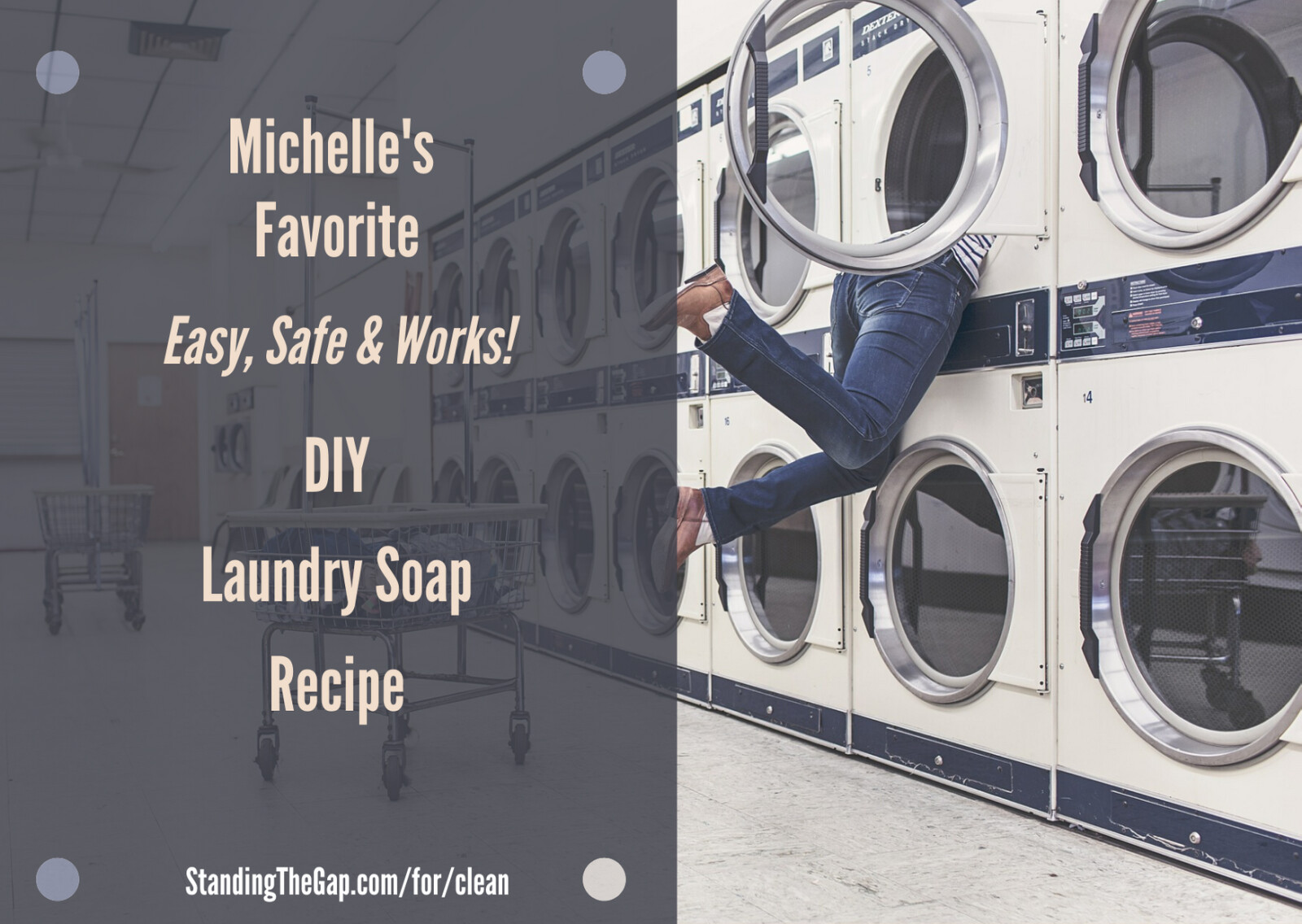 Michelle's Favorite 6 cent a load DIY Healthy Laundry Soap Recipe